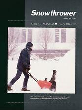 Snowthrower Service Ed 3, Penton Staff