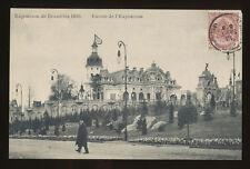 """1910 Exposition de Bruxelles Belgium - Entree de l""""Eposition"""