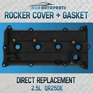 Valve Rocker Cover with Gasket for Nissan X-Trail T30 T31 QR25DE 2.5L Altima