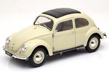 1:18 Welly VW ESCARABAJO BREZEL 1950 - Crema