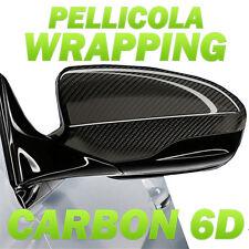 Pellicola adesiva CARBONIO 6D CARBON 6D LUCIDA car wrapping auto moto tuning