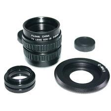 35mm f/1.7 CCTV Lens for m43 ep2 gf1 gh1+C mount to Micro 4/3 m4/3+ 2XMacro Ring