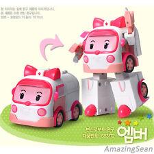 GENUINE Robocar Transformer Amber Robot Robocar Poli Seires Korean Animation