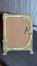 cadre a poser pour photo en bronze femme