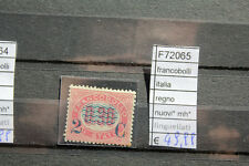 LOTTO FRANCOBOLLI ITALIA REGNO NUOVI* MH* LINGUELLATI (F72065)
