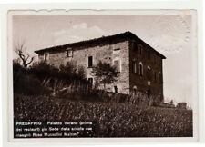 Predappio Duce PC timbro a secco Palazzo Varano prima del restauro 1920/1940Vi24