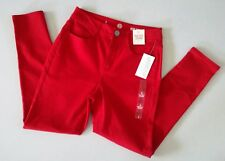 SO AUTHENTIC AMERICAN HERITAGE by Kohl's Women's High-Rise Jegging Red~Size 9