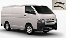 WEATHER SHIELDS WINDOW VISOR WEATHERSHIELDS FOR TOYOTA HIACE 2006 - 2015