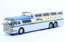 Bus GENERAL MOTORS GREYHOUND SCENICRUISER 1956 1:43 New & Box diecast model gmc