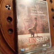 The Unsaid Sotto Silenzio  Editoriale Dvd Nuovo
