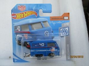 HOT WHEELS 2019 136/250 KOOL KOMBI NEW ON CARD  Blue Urban Outlaw