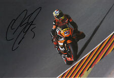 Colin Edwards Hand Signed NGM Forward Racing Yamaha 12x8 Photo 2014 MotoGP 7.