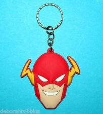 Flash Gordon Keyring School Bag PVC Tag Avengers Justice League Super Hero NEW