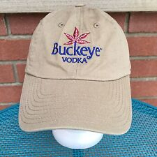 Buckeye Vodka Baseball Hat Cap Handcrafted Alcohol Spirit Of Ohio Booze