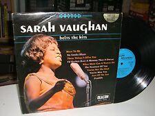 33 TOURS / LP--SARAH VAUGHAN--BELTS THE HITS--1970
