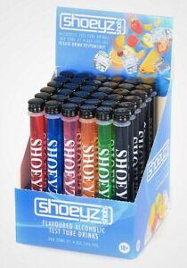 Shoeyz test tube PARTY SHOTS 🍾 🥳 🍹 Box of 36 X 20ml Tubes