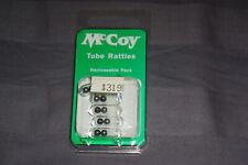 McCoy Tube Rattles, 5 pack, for Tube Baits,