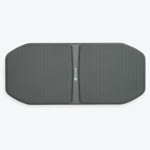 Gaiam Evolve Non Slip Balance Board for Standing Desk in Home or Office, Grey
