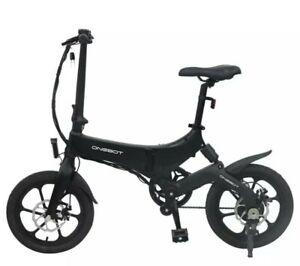 Onebot S6 foldable electric bike - Black