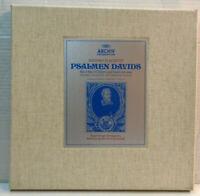 Archive 2722 007 Schutz - Psalms of David 3 x vinyl LP Box set 1972 LABEL FAULT