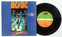 """EX/EX! AC/DC WHO MADE WHO 7"""" VINYL 45 1986"""
