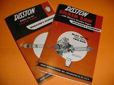 DISSTON MODEL DH-120 & DA-211  CHAINSAW OPERATOR'S HANDBOOKS NEW
