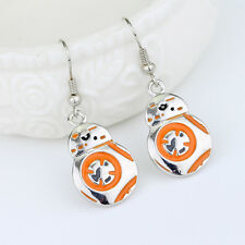 HUCHE Hook Dangle Costume Party Lady Girls Earring Stud for Star Wars BB-8 Droid