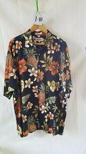 Vintage Men's Hawaiian Shirt Campia-Moda Xl 100% Rayon Button Down