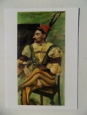 Lovis Corinth Cesare Borgia (Arthur Kraft) 1914 6x4 pollici CARTOLINA NUOVA