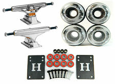 Independent 149 Stage 11 Standard Skateboard Trucks + 52mm Wheels + Bearings