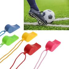 24 Pcs Color Plastic Cheer Sports Basketball Soccer Ball Fans Referee Whistle