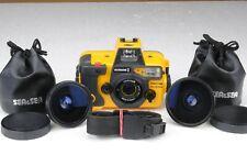 Sea & Sea Motomarine II Fraco Sub+Wide 16mm+Wide 20mm Fotocamera Subacquea Japan