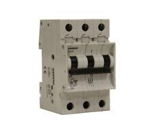 Siemens 5SX23 C8Circuit Breaker 8A 3 Pole 480V Max 5SX2 8 Amp 3P NEW