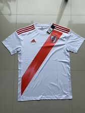 RIVER PLATE 2020 Home Jersey Always SIZE L FREE SHIPPING 1-3 DAY SOCCER TEAM