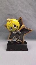 Softball little pal full color resin award Lpr09