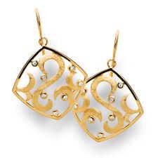 Ohrhänger Ohrringe 585 Gelbgold Ohrschmuck Echtschmuck Diamanten 0,11 ct Damen