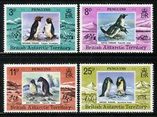 Penguins British Antarctic # 72 - 75 Mint NH 1979 Complete set $22.50 ScottValue