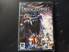 MAGE KNIGHT APOCALYPSE PC DVD-ROM NEW SEALED ( action/adventure & strategy game