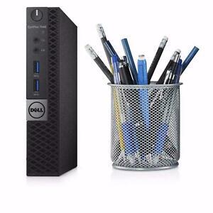FAST PC Dell Optiplex 7040 micro USFF Intel Core i7 6700 8GB 256gb SSD win 10/11