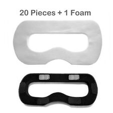 20 PCS Disposable Sanitary Eye Mask/Facial Mask +1 Foam for HTC VIVE VR Headset