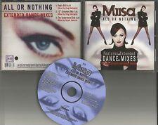 MIISA w/ DOUG DeANGELIS & RONNIE VENTURA All Or Nothing EDIT& MIX &DUB CD Single