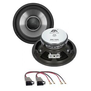 ESX Quantum QE120 Lautsprecher Einbauset kompatibel mit T4 Seitenteile hinten