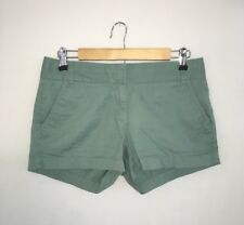 J. CREW Chino Turquoise Blue Green Shorts / Size 2 Small S