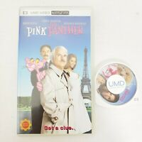 Sony PSP The Pink Panther Animation Movie Steve Martin UMD Video for PSP Tested