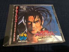 Samurai spirits Neo Geo cd Game complete