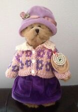 "Boyds Bears Bailey Spring 1997 9"" Velour Romper Bearwear New!"
