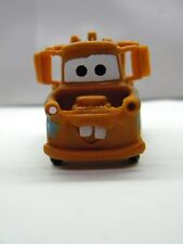"Tow Mater Action Figure Disney Pixar Cars PVC Small Figurine 3"" x 1.5"" No Roll"