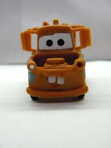 """Tow Mater Disney Pixar Cars Action Figure PVC Small Figurine 3"""" x 1.5"""" No Roll"""