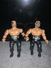 "REMCO AWA/WWF/NWA All Star Wrestling ""ROAD WARRIORS"" figure WWE True 1985 Belts"