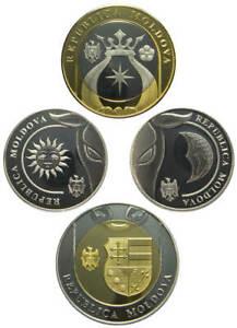 Moldova 2018 complete coins set 1-2-5-10 lei UNC